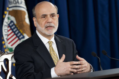 Fed chairman Ben Bernanke. Photograph: Saul Loeb/AFP/Getty Images