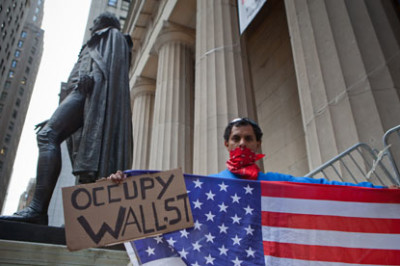 There have been more than 2,250 Occupy-related arrests since September. Photograph: Julie Dermansky/Corbis