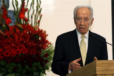 Shimon Peres, the Israeli president and Nobel laureate