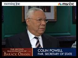 Colin Powell on Morning Joe - January 20, 2013