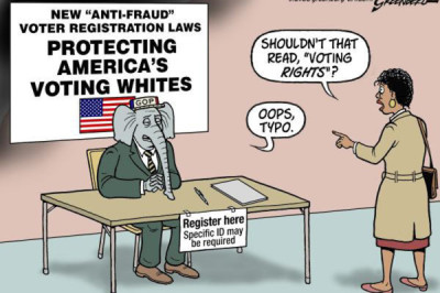 protecting white voters with voter suppression of others