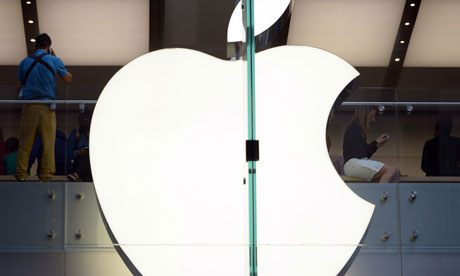 Apple is investigating new claims of worker mistreatment in China. Photograph: Saeed Khan/AFP/Getty Images