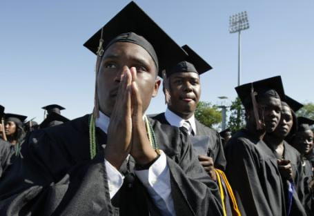 WORRYING STATISTICS: Black college graduates struggle in the real world