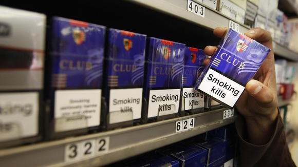 Plain packaging for cigarettes scrapped. Photo: Danny Lawson/PA Wire