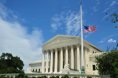 The U.S. Supreme Court has struck down Arizona's restrictive voter registration law.  KAREN BLEIER/AFP/Getty Images