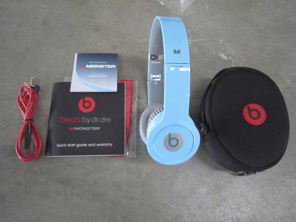 A counterfeit pair of Beats headphones seized by US customs. Photo: Reuters