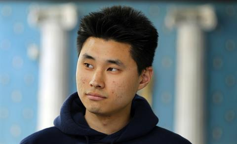 This May 1 ,2012, file photo shows Daniel Chong at a news conference where he discussed his detention by the DEA in San Diego.(AP Photo/U-T San Diego, K.C. Alfred)