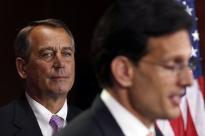 Speaker of the House John Boehner (L) and House Majority Leader Rep. Eric Cantor (R)  | Photo: Larry Downing/Reuters