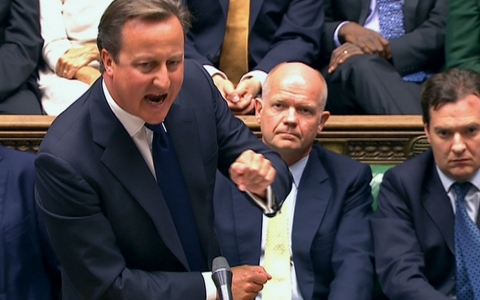"""Cameron told parliament Thursday it was """"unthinkable"""" that Britain would launch military action against Syria to punish and deter it from chemical weapons use if there was strong opposition at the United Nations Security Council. 