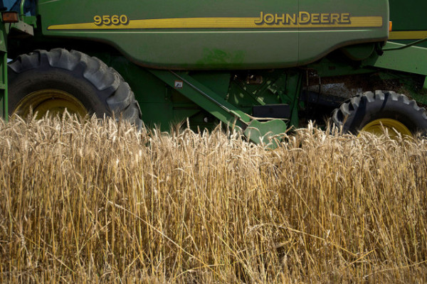 The government subsidies show how a program created to safeguard the nation's farmers has evolved into a system that in most years all but guarantees profits for insurers. | Daniel Acker/Bloomberg