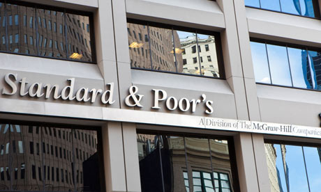 Standard & Poor's attracted ire in Washington when it downgraded the US's credit rating in August 2011.   Photograph: Alamy