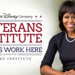 First Lady Michelle Obama at Disney's Veterans Institute