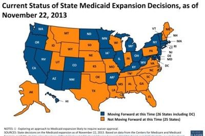 20131201-C20001201-Medicaid Expansion Map-11222013
