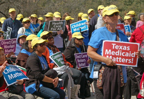Texas  Republicans Governor Rick Perry and Texas Attorney General Greg Abbott's refusal to expand Medicaid has created a significant coverage gap in Texas.