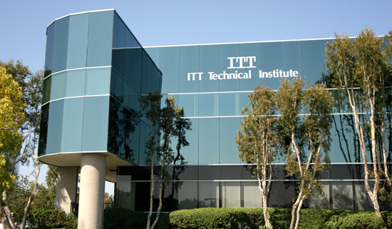 A campus of ITT Technical Institute in San Diego, California. The federal Consumer Financial Protection Bureau filed suit against ITT Educational Services, accusing the company of steering students into high-cost loans that they are highly unlikely to repay.