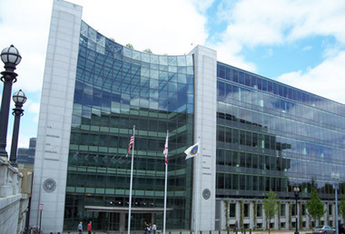 The Securities and Exchange Commission (SEC) headquarters in Washington, D.C.