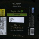 Simply Lite Dark Chocolate Bar Recall Over Milk Protein