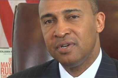 Charlotte Mayor Patrick Cannon, Democrat, faces theft and bribery charges.