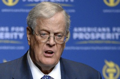 David Koch and his brother, Charles, co-founded Americans for Prosperity. | Phelan M. Ebenhack, AP