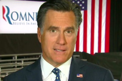 """Former Massachusetts Gov. Mitt Romney said on Wednesday that he's """"not concerned about the very poor"""