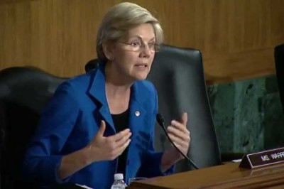 "Sen. Elizabeth Warren's on July 31, 2014 during Senate Banking Committee hearing on ""Financial Products for Students: Issues and Challenges."""