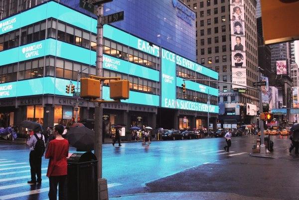 Barclays Capital 7th Avenue & W 50 Street in New York