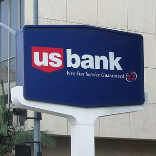 image of us bank sign