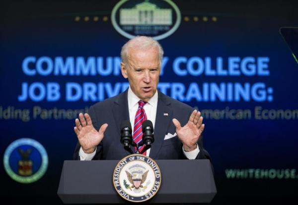 VPident Joe Biden announced the recipients of job-driven training grants for community colleges.