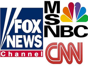 Fox, MSNBC, and CNN hardly do news, but truck in opinion and punditry.