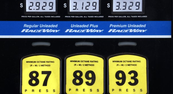 image of gas pump prices