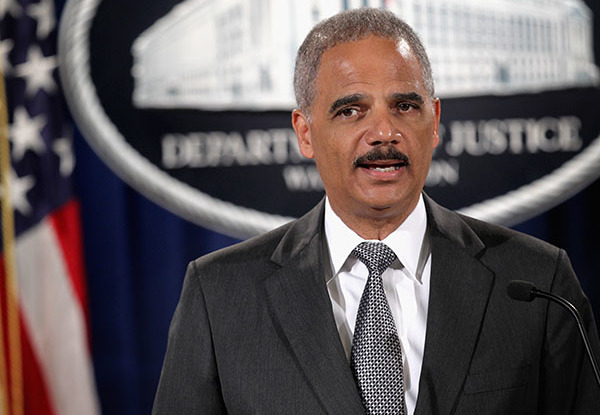 The federal government is recognizing gay marriage in six more states, extending federal benefits to those couples, according to Attorney General Eric Holder. | Photo by Alex Wong/Getty Images