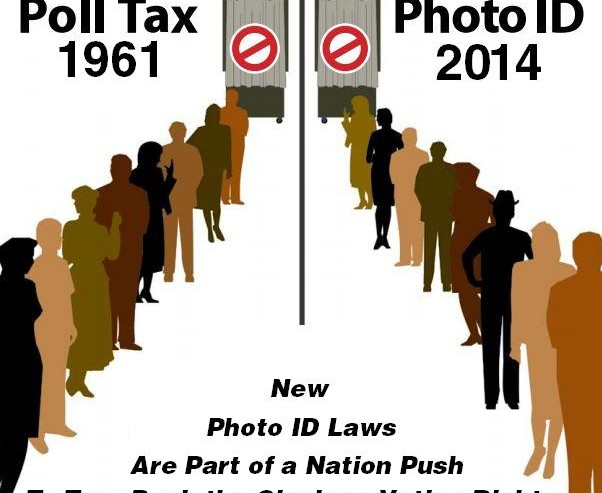 image of poll tax and photo id