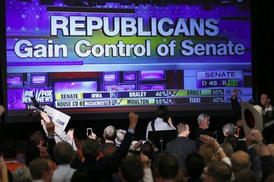 Republicans gain control of Senate image