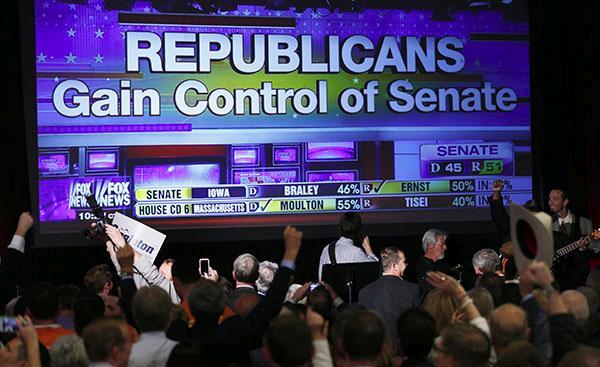 Republicans gain control of Senate image
