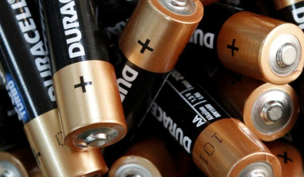 image of Duracell batteries