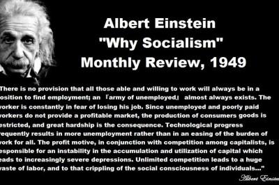 Albert Einstein Why Socialism