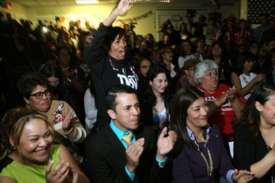 Thousands of immigrant-rights activists, families and elected officials cheered across the country as President Barack Obama announced on television his plan for relief from deportation for about 5 million people.