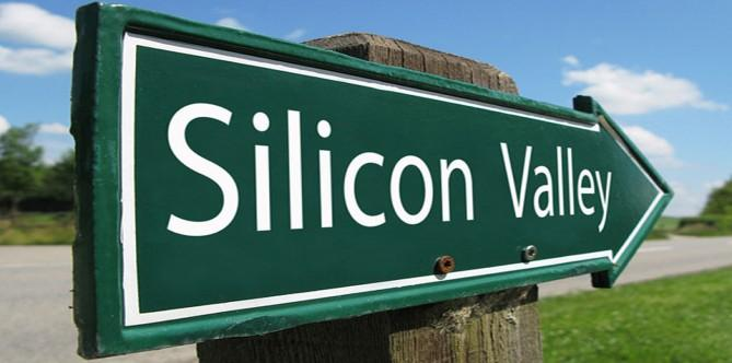 image of Silicon Valley arrow sign