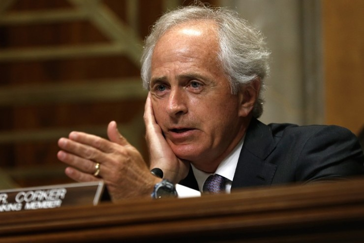 Senate Foreign Relations Committee ranking member Sen. Bob Corker (R-TN)
