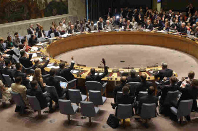 UN Security Council votes on and endorses the Iran nuclear agreement