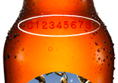 "Location of where the ""Freshness Matters"" code can be found on an Angry Orchard bottle."