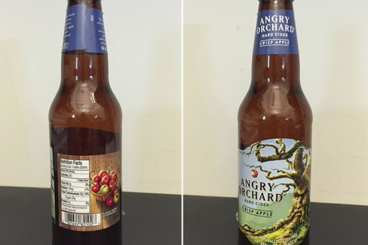 Angry Orchard Crisp Apple Hard Cider Photo
