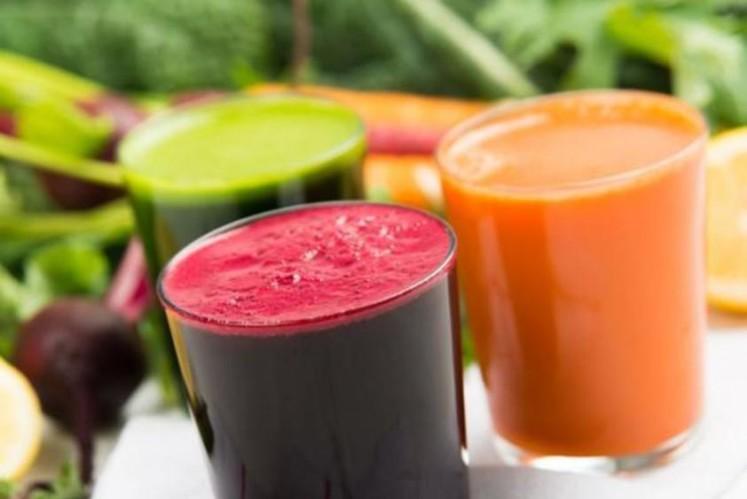 fresh organic juice