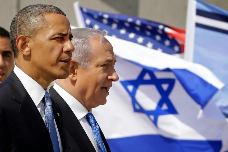 Barack Obama and Benjamin Netanyahu