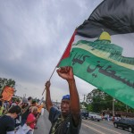 African-American rights activists endorse boycott of Israel.