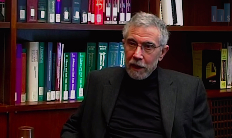 Paul Krugman,  Op-Ed Columnist for The New York Times.