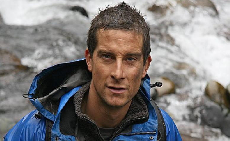 TV outdoors star Bear Grylls