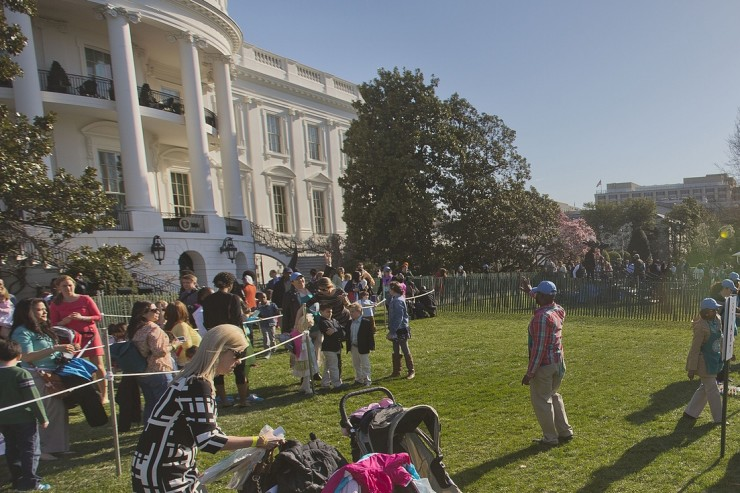 White House Easter egg roll 2015